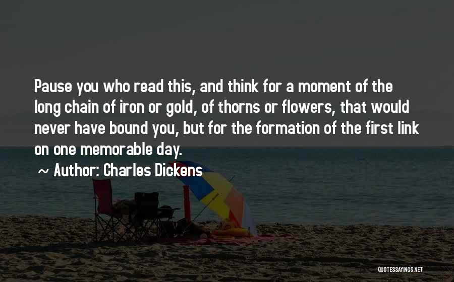 Thorns Quotes By Charles Dickens
