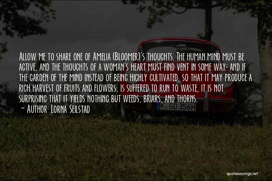 Thorns Quotes By Lorna Seilstad