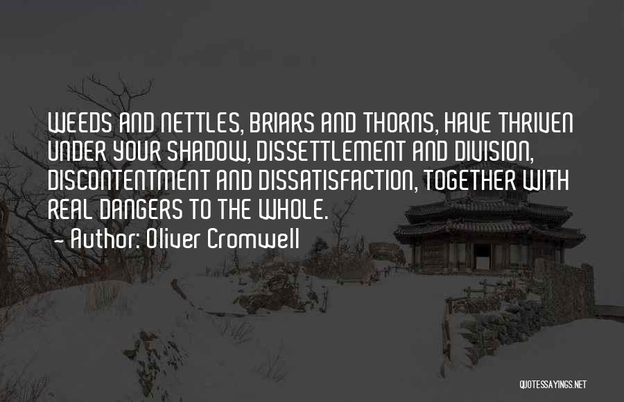 Thorns Quotes By Oliver Cromwell