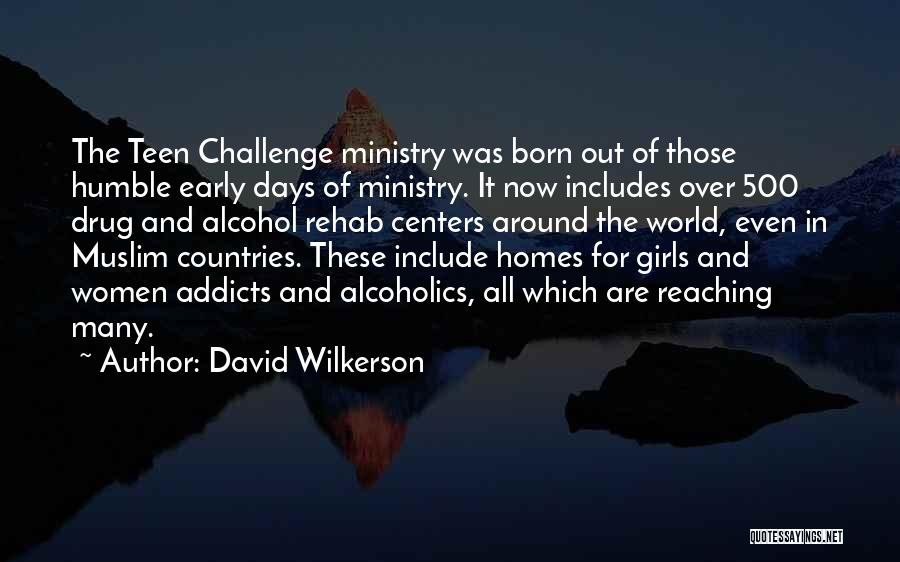 Those Days Are Over Quotes By David Wilkerson
