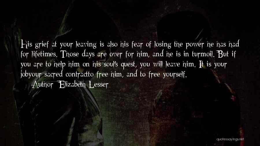 Those Days Are Over Quotes By Elizabeth Lesser