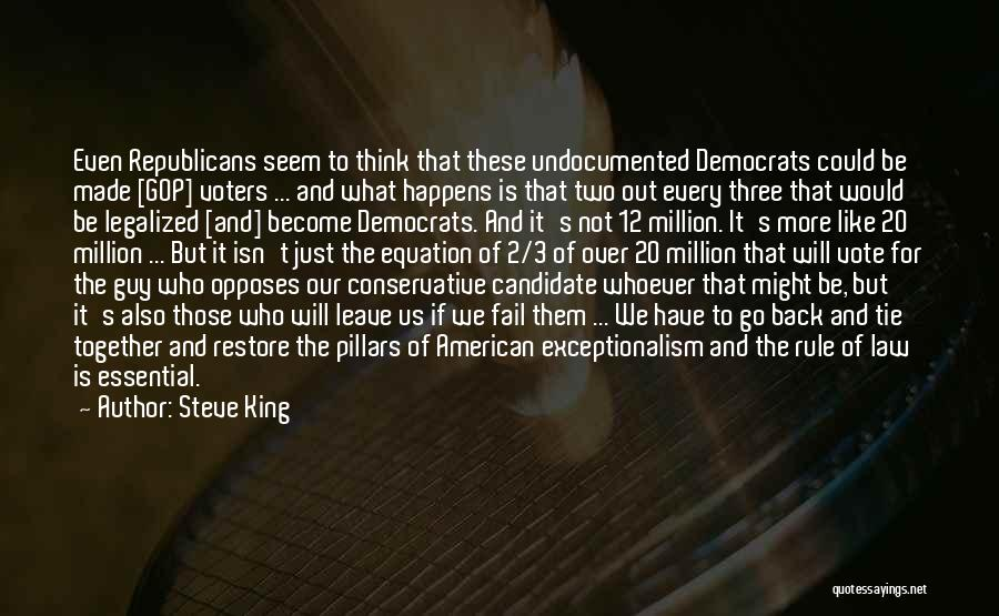 Those Who Leave Us Quotes By Steve King
