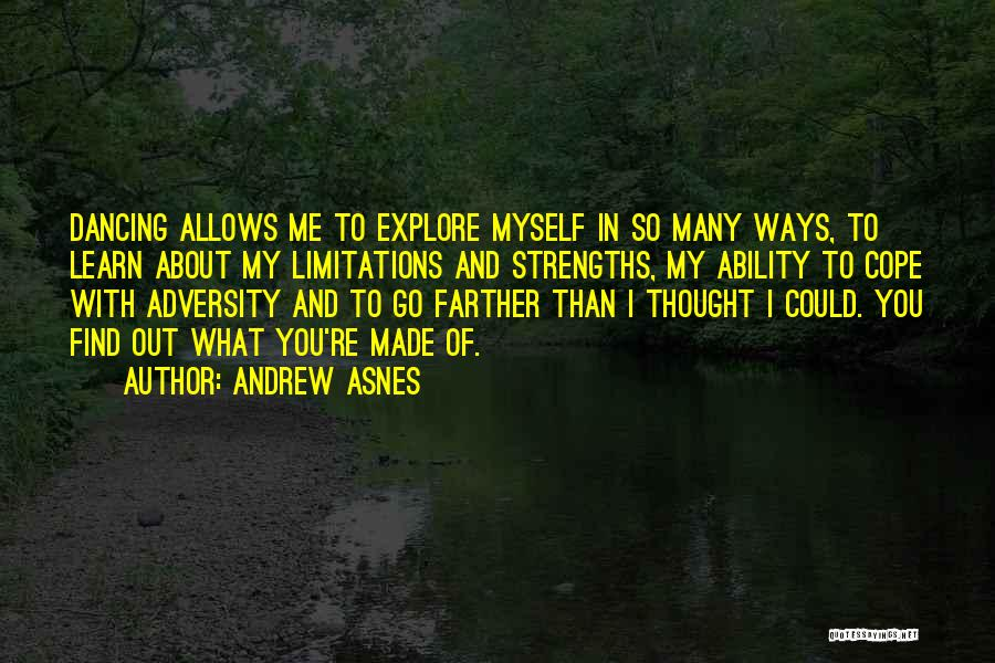 Thought You Quotes By Andrew Asnes