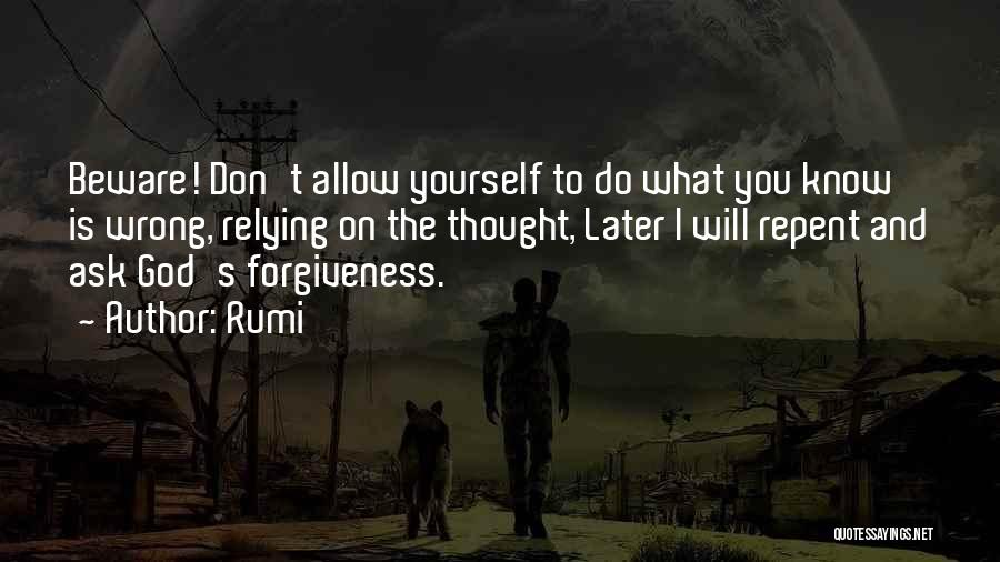 Thought You Quotes By Rumi