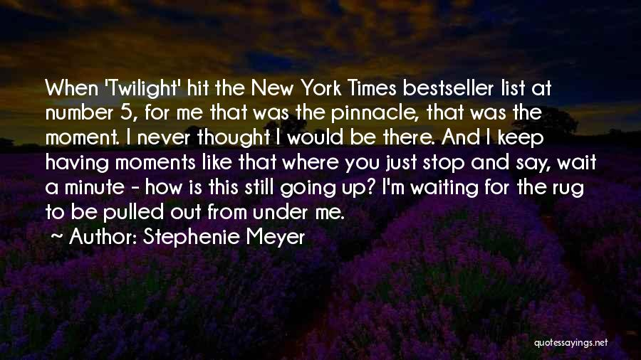 Thought You Quotes By Stephenie Meyer