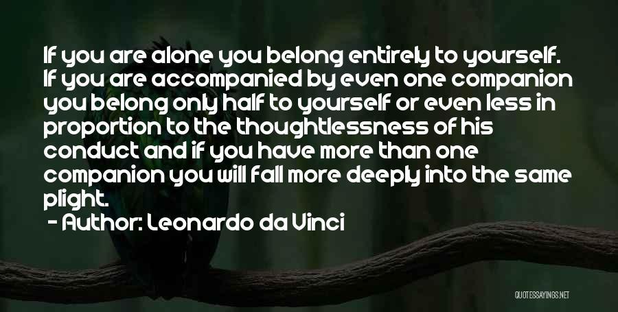 Thoughtlessness Quotes By Leonardo Da Vinci