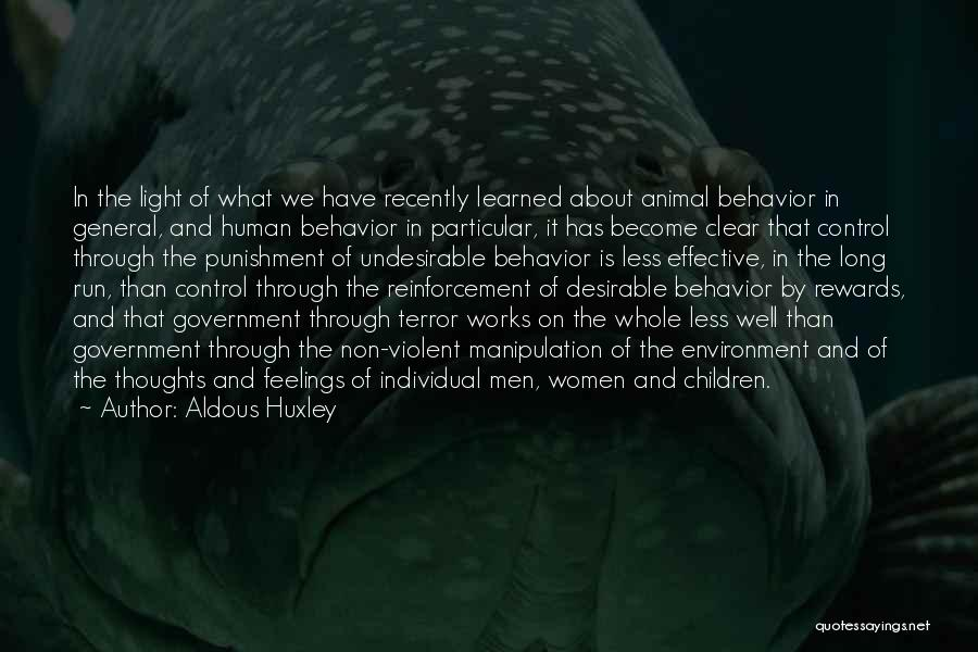 Thoughts Become Quotes By Aldous Huxley