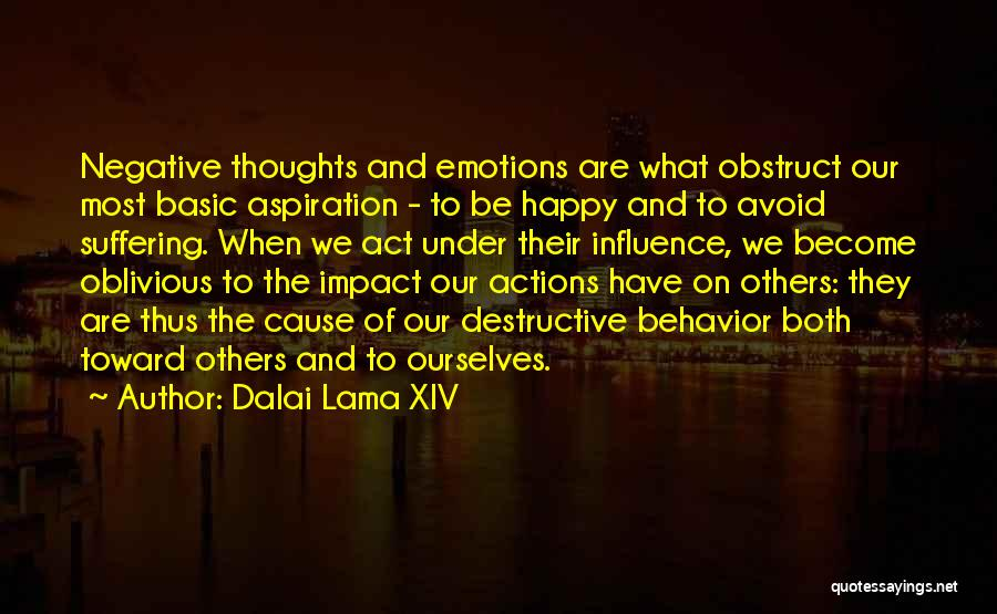 Thoughts Become Quotes By Dalai Lama XIV