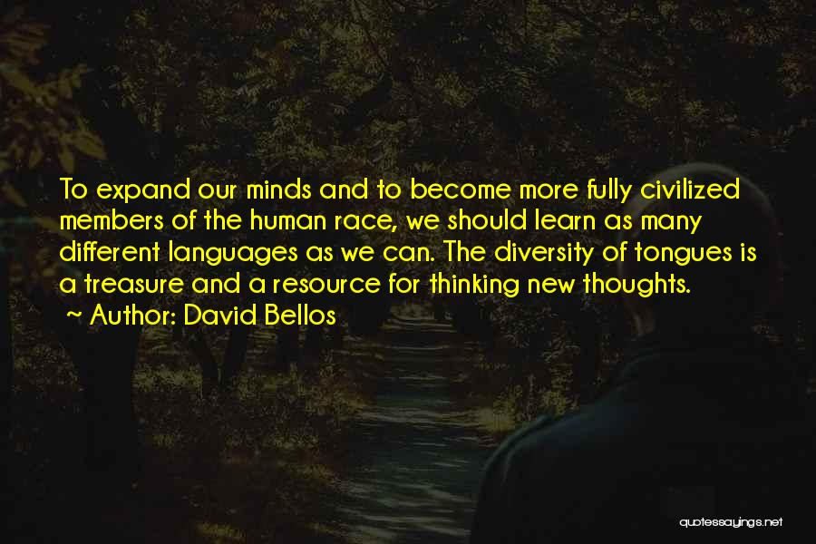 Thoughts Become Quotes By David Bellos