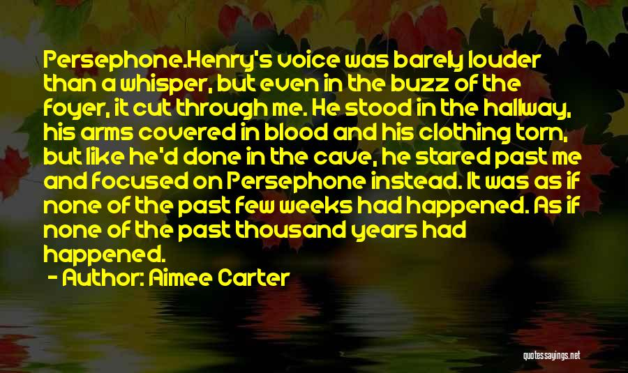 Thousand Arms Quotes By Aimee Carter