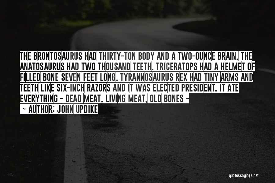 Thousand Arms Quotes By John Updike