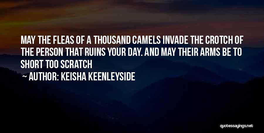Thousand Arms Quotes By Keisha Keenleyside