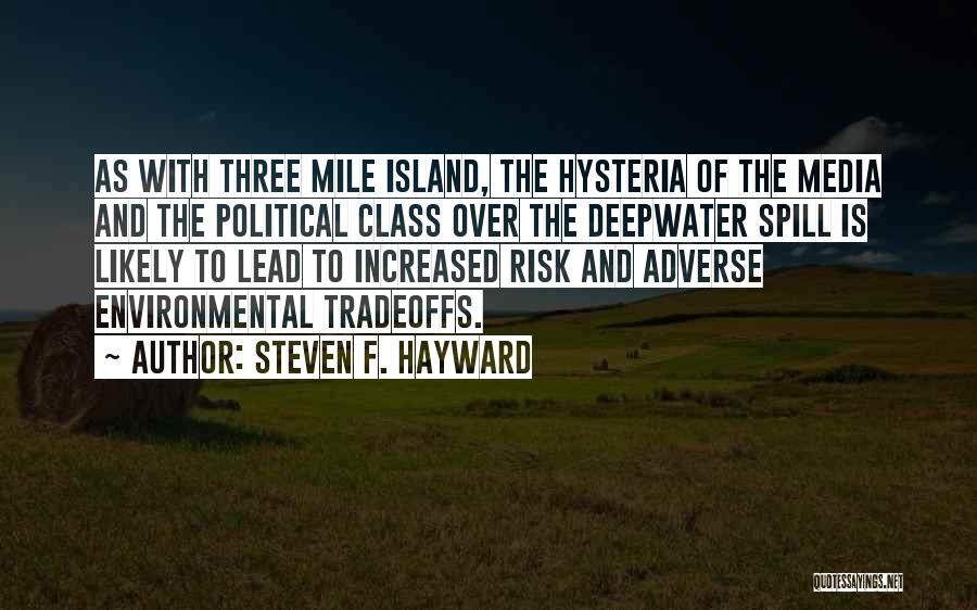 Three Mile Island Quotes By Steven F. Hayward