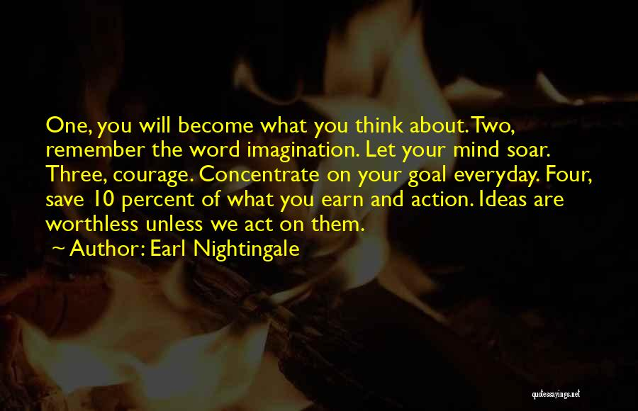 Three Word Quotes By Earl Nightingale