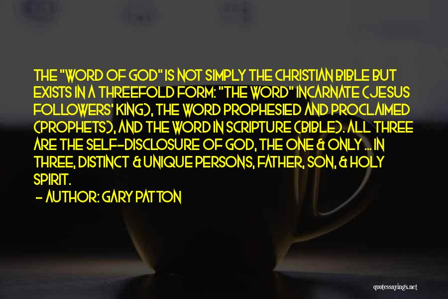 Three Word Quotes By Gary Patton