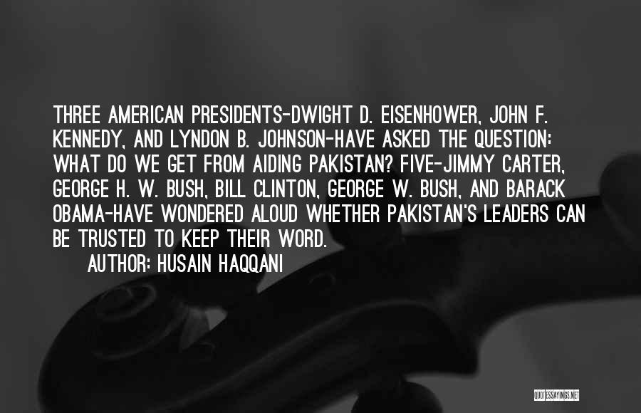 Three Word Quotes By Husain Haqqani