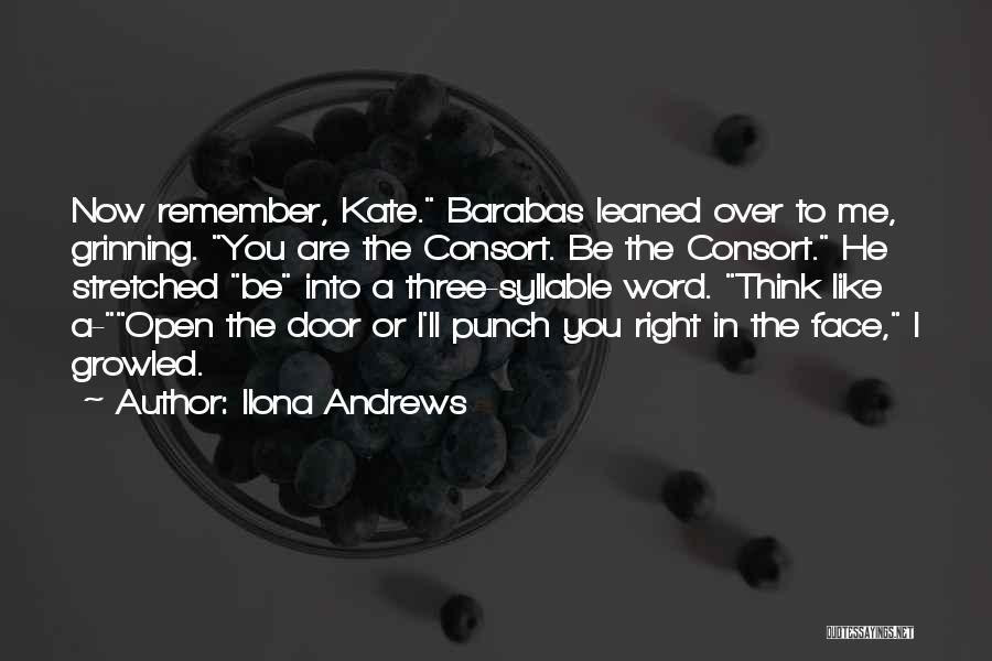 Three Word Quotes By Ilona Andrews