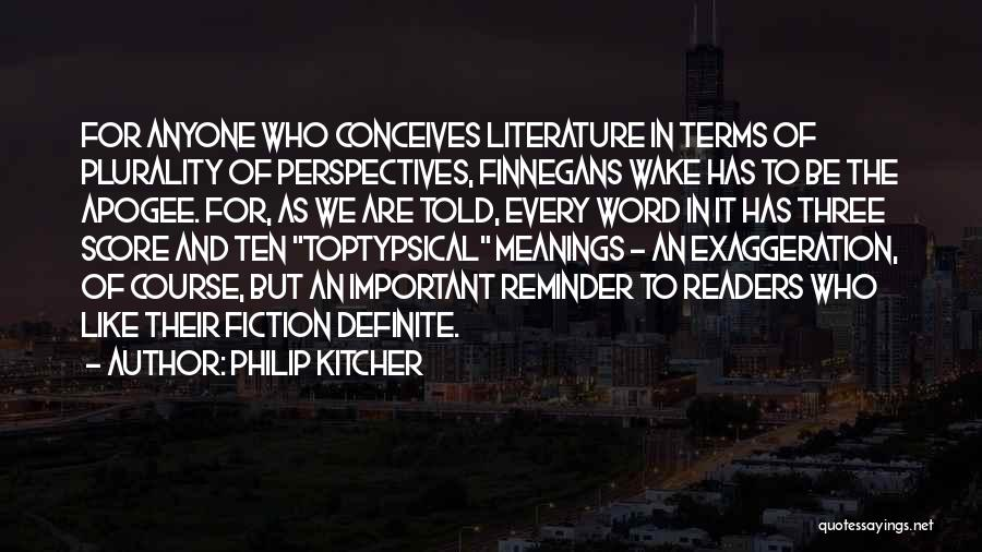 Three Word Quotes By Philip Kitcher