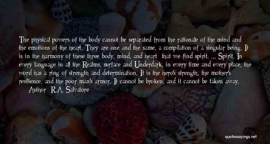 Three Word Quotes By R.A. Salvatore