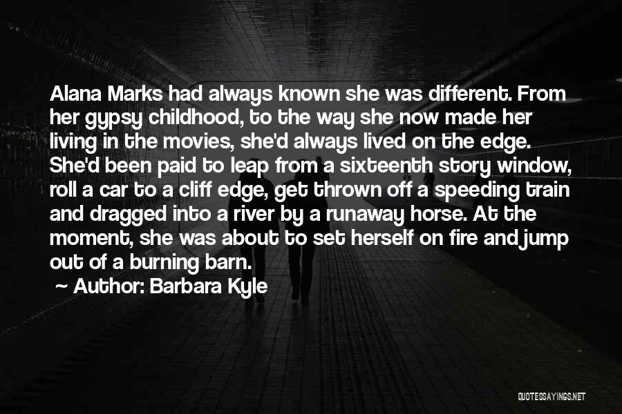 Thriller Movies Quotes By Barbara Kyle