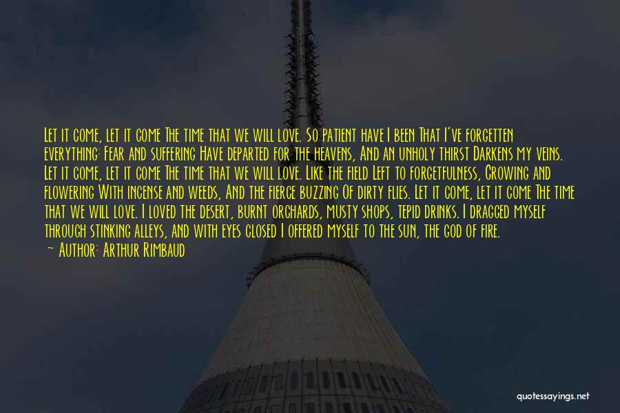 Through My Eyes Quotes By Arthur Rimbaud