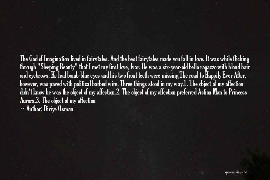 Through My Eyes Quotes By Diriye Osman