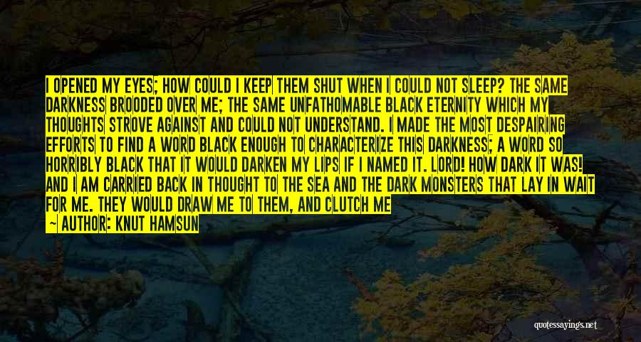 Through My Eyes Quotes By Knut Hamsun