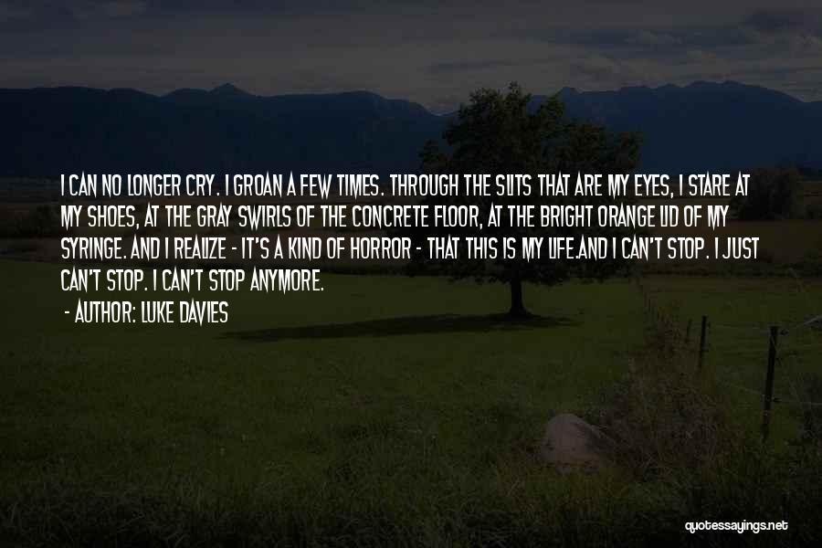 Through My Eyes Quotes By Luke Davies