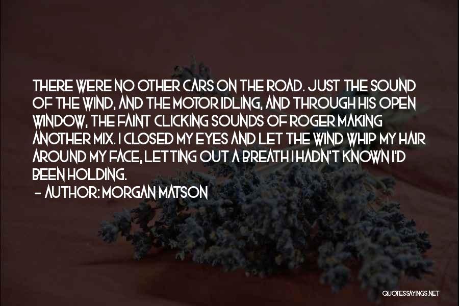 Through My Eyes Quotes By Morgan Matson