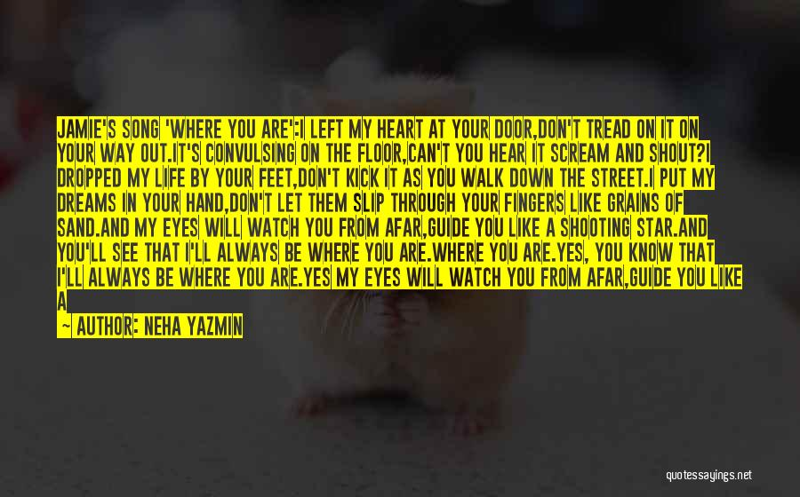 Through My Eyes Quotes By Neha Yazmin