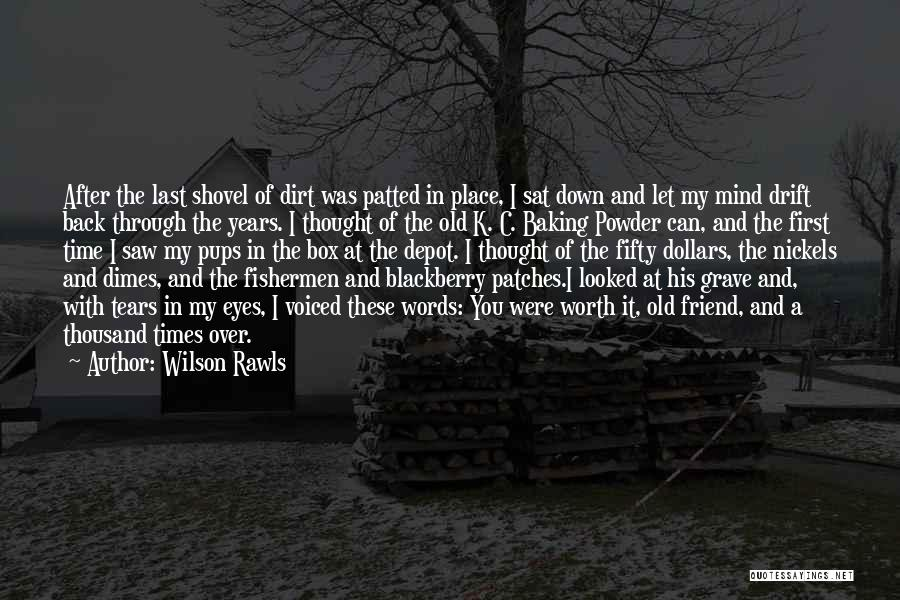 Through My Eyes Quotes By Wilson Rawls
