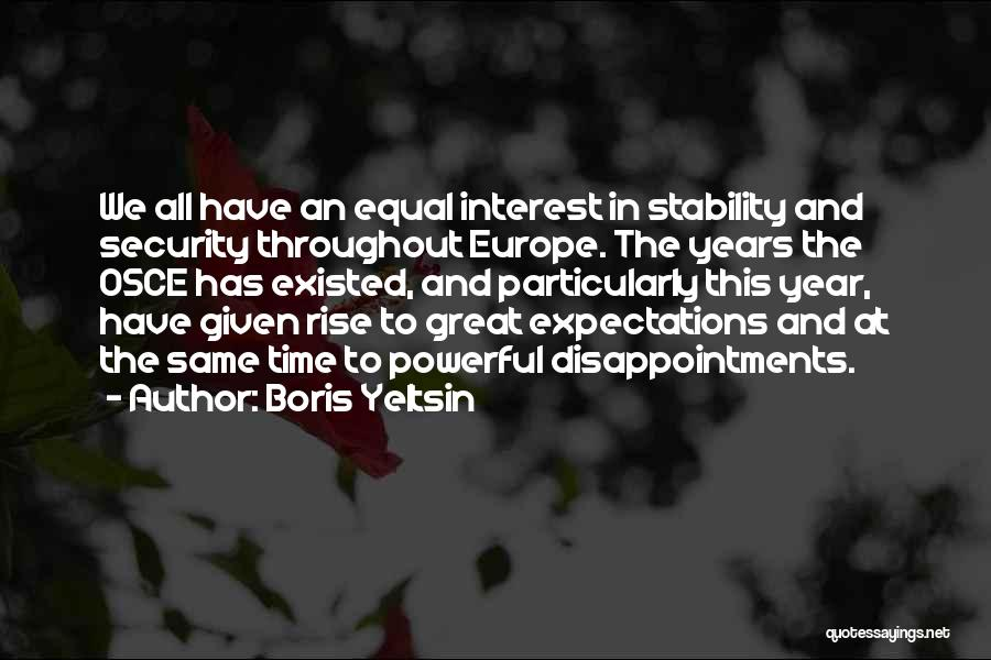 Throughout The Year Quotes By Boris Yeltsin