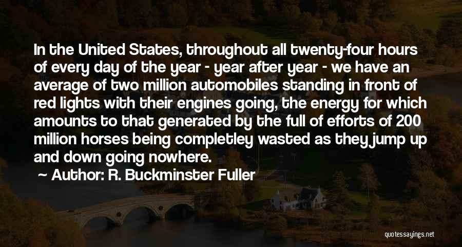 Throughout The Year Quotes By R. Buckminster Fuller