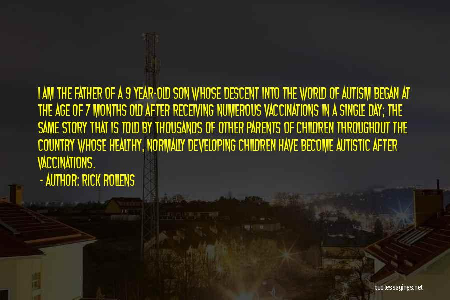 Throughout The Year Quotes By Rick Rollens