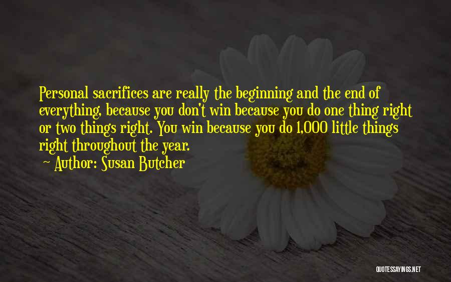 Throughout The Year Quotes By Susan Butcher