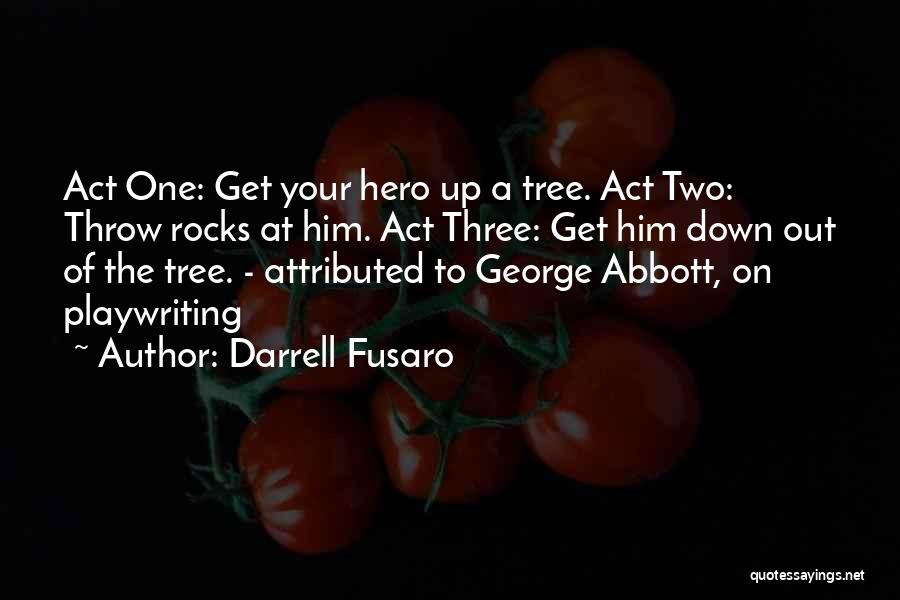 Throw Out Quotes By Darrell Fusaro