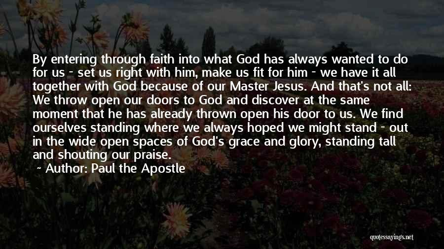 Throw Out Quotes By Paul The Apostle