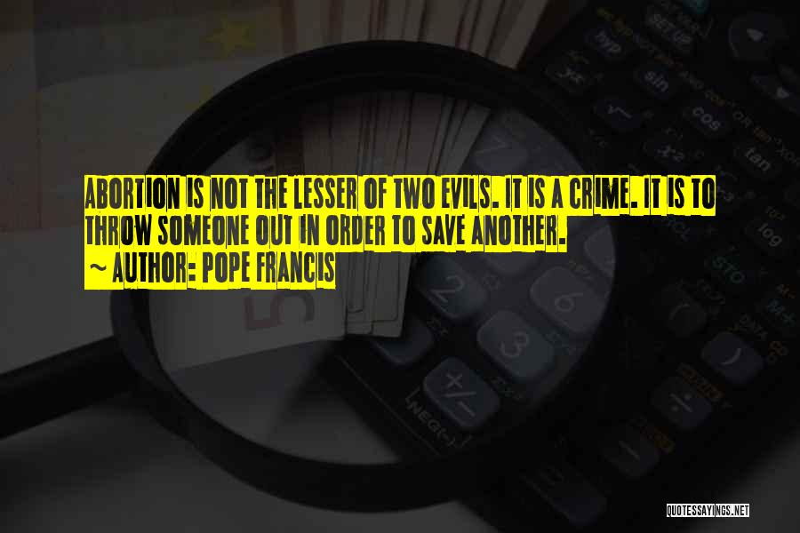 Throw Out Quotes By Pope Francis