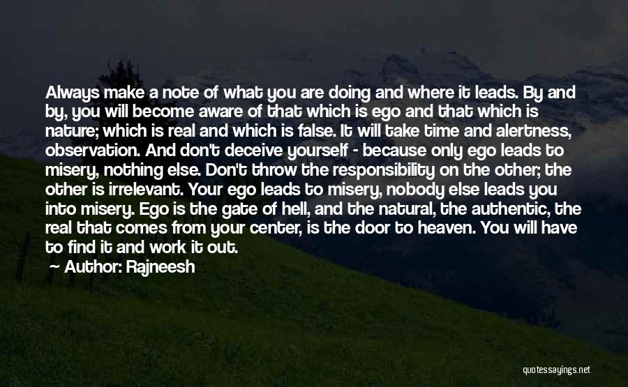 Throw Out Quotes By Rajneesh
