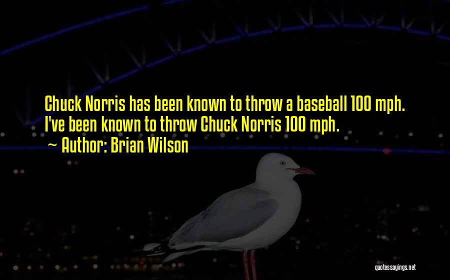 Throw Quotes By Brian Wilson