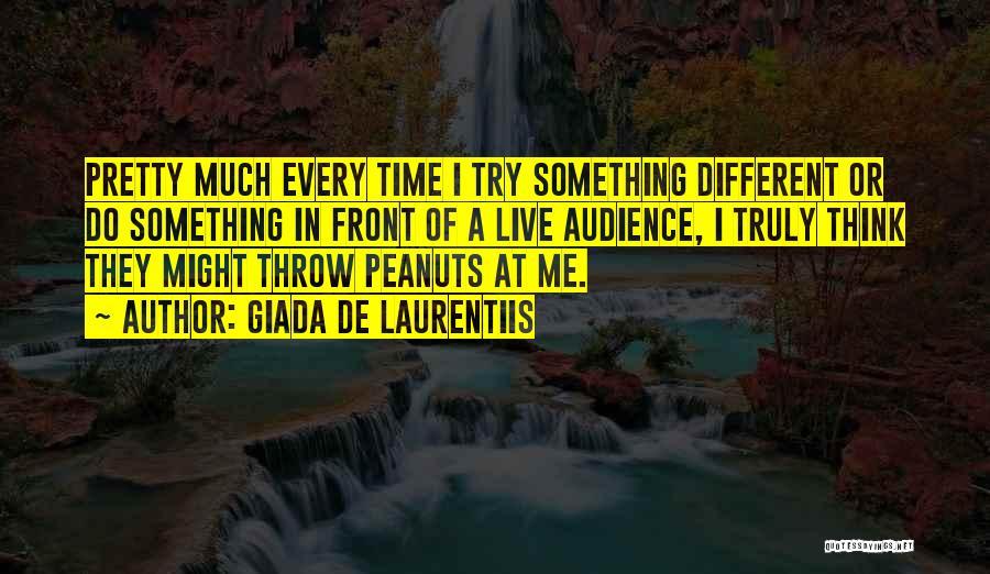 Throw Quotes By Giada De Laurentiis
