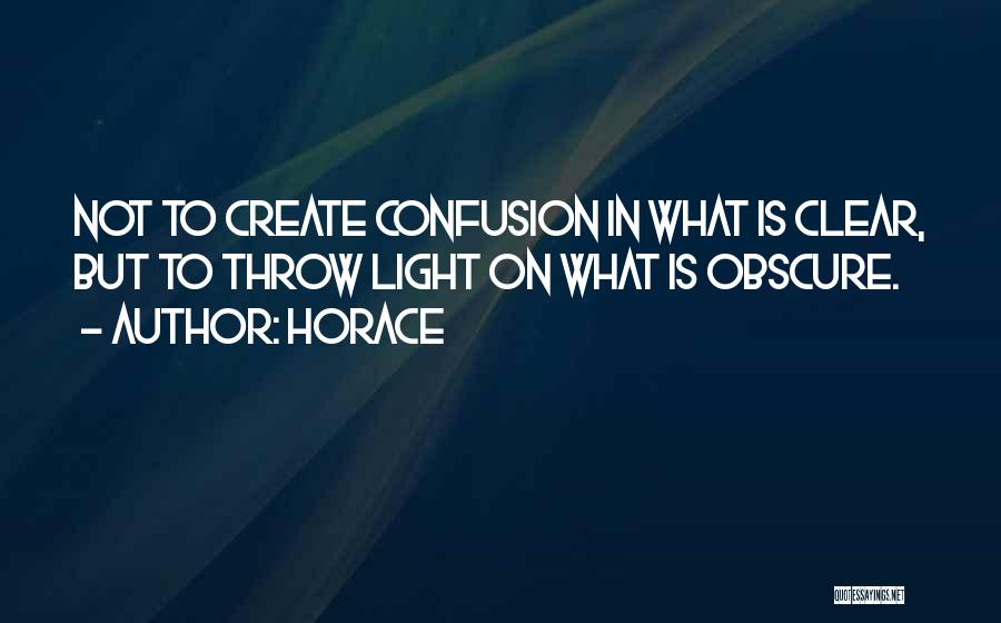 Throw Quotes By Horace