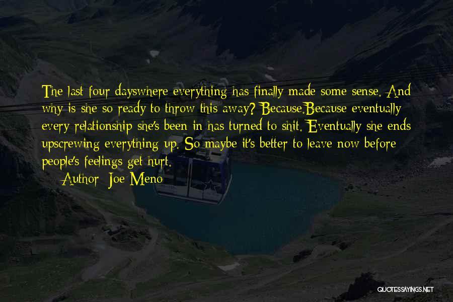 Throw Quotes By Joe Meno