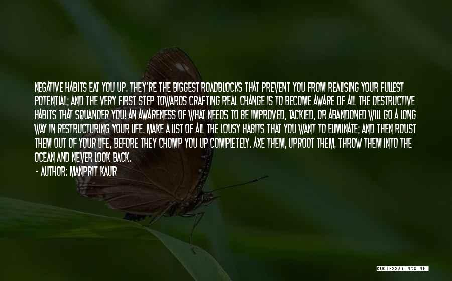 Throw Quotes By Manprit Kaur