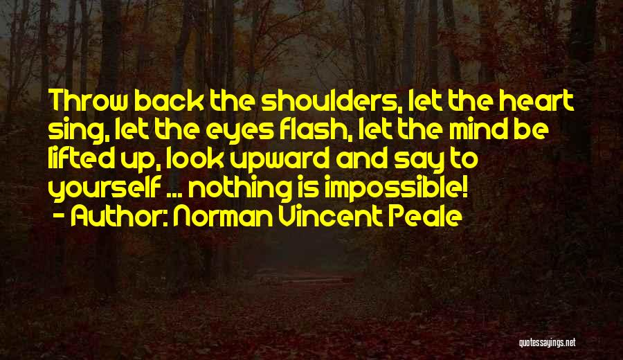 Throw Quotes By Norman Vincent Peale