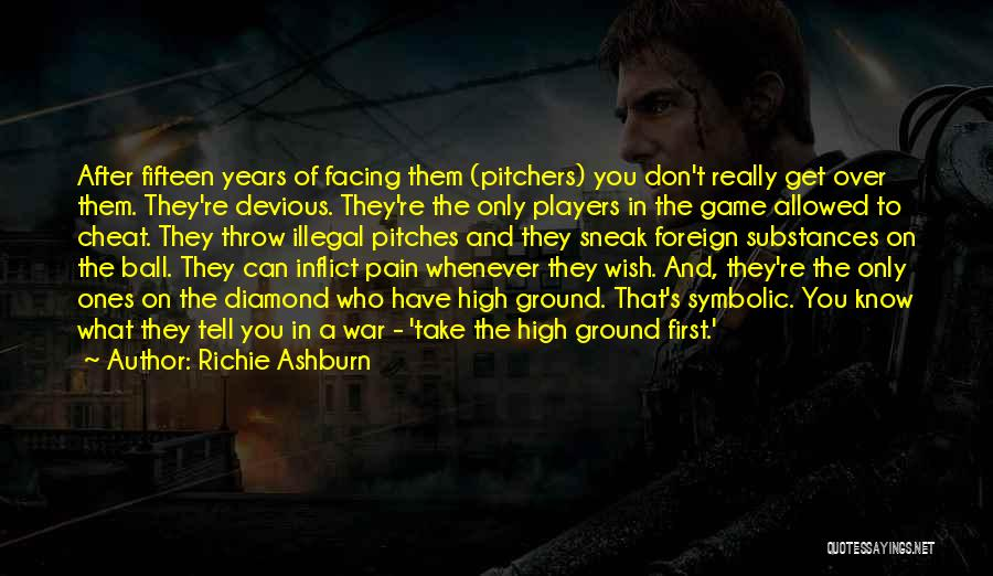 Throw Quotes By Richie Ashburn