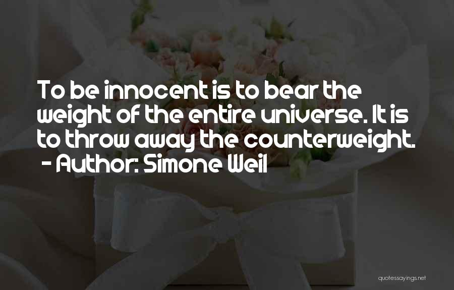 Throw Quotes By Simone Weil
