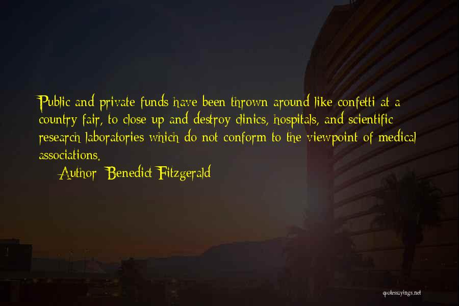 Thrown Around Quotes By Benedict Fitzgerald