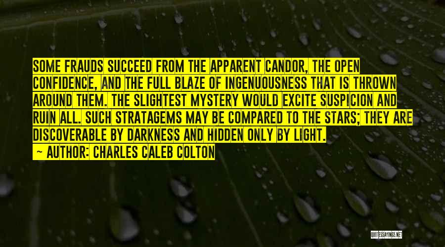 Thrown Around Quotes By Charles Caleb Colton