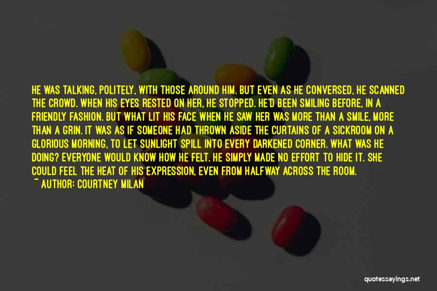 Thrown Around Quotes By Courtney Milan